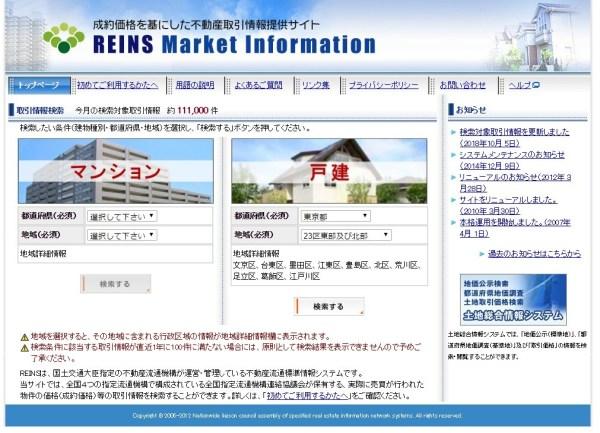 REINS Market Infomation